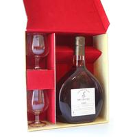 Coffret 2 Verres- Armagnac De Loyac VSOP 70 CL