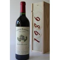 Coffret Château Lanessan 1986 Rouge 75cl AOC Haut-Médoc