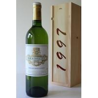Coffret Château Coutet 1997 Blanc sec 75cl AOC Graves