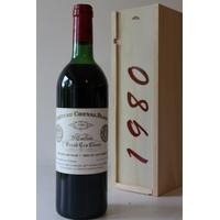 Coffret Château Cheval Blanc 1980 Rouge 75cl AOC Saint-Émilion