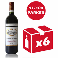 x6 Château Chasse Spleen 2014 Rouge 75cl AOC Moulis