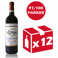 x12 Château Chasse Spleen 2014 Rouge 75cl AOC Moulis