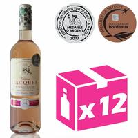 X12 Château Jacquet 2016 - 75cl - Rosé - AOC - Bordeaux