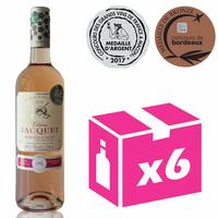 X6 Château Jacquet 2016 - 75cl - Rosé - AOC - Bordeaux