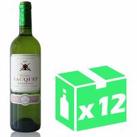 X12 Château Jacquet 2017 - 75cl - Blanc sec - AOC - Bordeaux