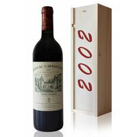 Coffret Château Carbonnieux 2002 Rouge 75cl AOC Péssac-Léognan