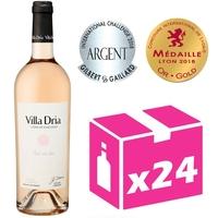 x24 Villa Dria Fleur des Fées - Rosé - 75cl - IGP Côtes de Gascogne