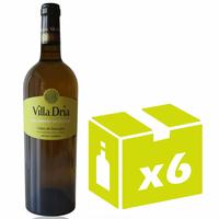 x6 Villa Dria Colombard-Sauvignon Blanc sec -  75cl - AOC -  Côtes de Gascogne