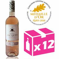 X12 Château Jacquet 2017 - 75cl - Rosé - AOC - Bordeaux