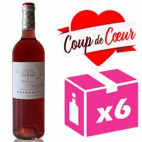 x6 Château La Freynelle 2017 - AOC Bordeaux Clairet - 75cl - Cabernet Sauvignon
