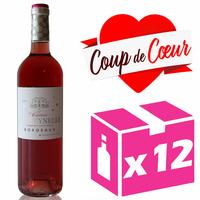 x12 Château La Freynelle 2017 - AOC Bordeaux Clairet - 75cl - Cabernet Sauvignon