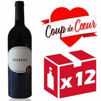 x12 Deodatus 2016 - Rouge - 75cl - AOC - Madiran