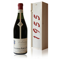 Coffret Volnay 1955 Bouchard Ainé & Fils Rouge 75cl AOC Bourgogne