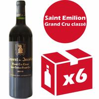 x6 Château Couvent des Jacobins 2010 Rouge 75cl AOC Saint Émilion