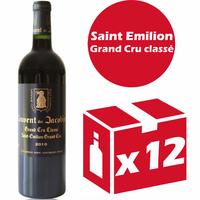 x12 Château Couvent des Jacobins 2010 Rouge 75cl AOC Saint Émilion