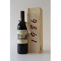 COFFRET 30 ANS CH. DE MARBUZET 1986