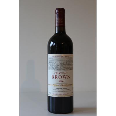 Château Brown 2000 Rouge 75cl AOC Pessac Léognan