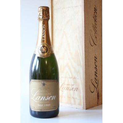 Champagne Lanson Brut 1989 75cl