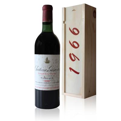 Coffret Château Giscours 1966 Rouge 75cl AOC Margaux
