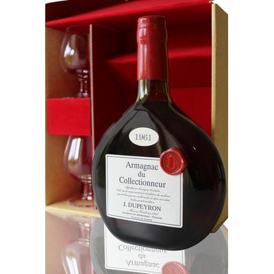 Bas Armagnac - Ryst Dupeyron - 1961 - 2 Verres - 70cl