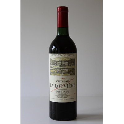 Château La Louvière 1967  Rouge 75cl AOC Graves Léognan