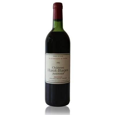 Château Haut Bages Averous 1982 Rouge 75cl AOC Pauillac