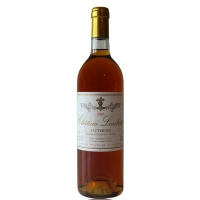 Château Laribotte 1988 Blanc 75cl AOC Sauternes
