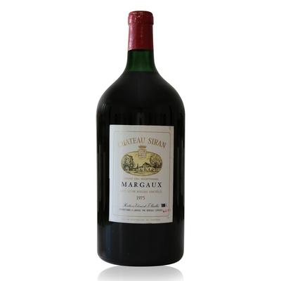 Château Siran 1975 double Magnum Rouge 300cl AOC Margaux