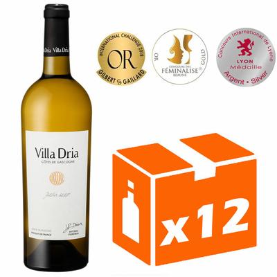 x12 Villa Dria Jardin Secret - Blanc Moelleux - 75cl - IGP Côtes de Gascogne