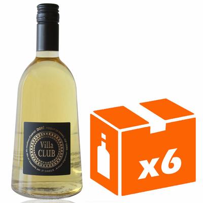 x6 Villa Club Doré Blanc - 75cl - AOC - Côtes de Gascogne