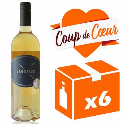 x6 Deodatus 2016 - Blanc Moelleux - 75cl - AOC -Comté Tolosan