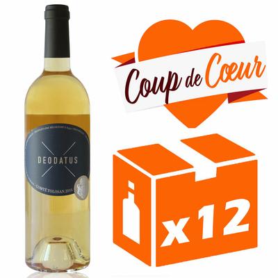 x12 Deodatus 2016 - Blanc Moelleux - 75cl - AOC -Comté Tolosan