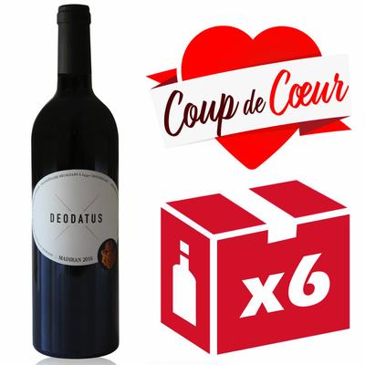 x6 Deodatus 2016 - Rouge - 75cl - AOC - Madiran