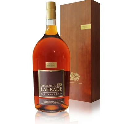 Armagnac  Laubade  Intemporel Hors d'Age  Pot Gascon  250CL