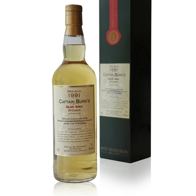 Whisky Captain Burn's Glen Spey - Speyside - 1991 - 70cl