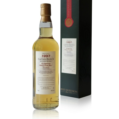 Whisky Captain Burn's Glenrothes Speyside - 1997 - 70cl