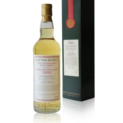 Whisky Captain Burn's Mortlach Speyside - 1993 - 70cl