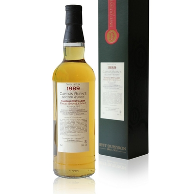 Whisky Captain Burn's - Tamdhu Speyside - 1989 - 70cl
