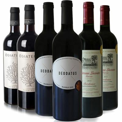 Box 6 vins Rouges sélection spéciale
