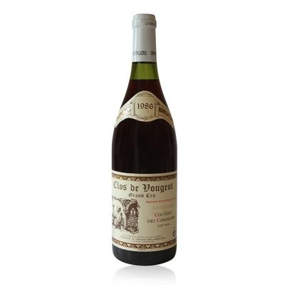 Clos de Vougeot 1986 - Rouge - 75cl - AOC Bourgogne