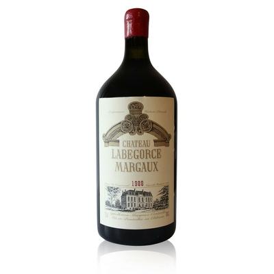 Château Labegorce 1988 Double Magnum Rouge 300cl AOC Margaux