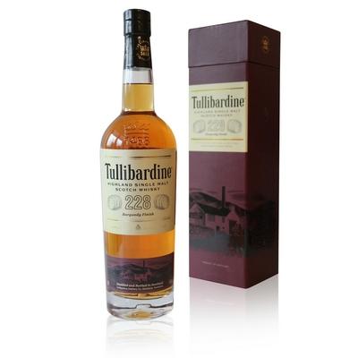 Whisky Tullibardine 228 Burgundy Finish - 70cl