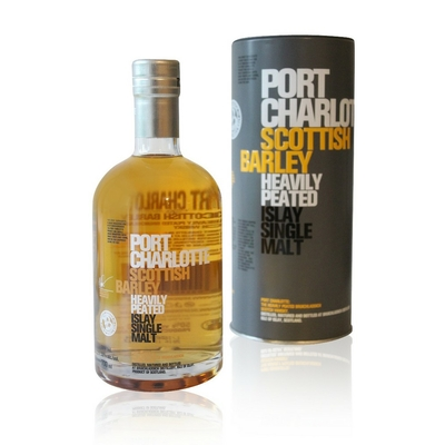 Whisky Port Charlotte Scottish Barley - 70cl