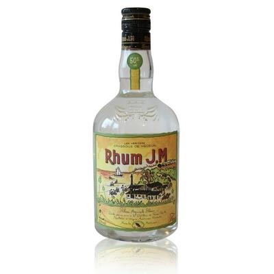 Rhum Blanc - J.M - 70cl - 50% Vol.