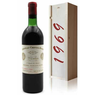 Coffret Château Cheval Blanc 1969 Rouge 75cl AOC Saint-Émilion