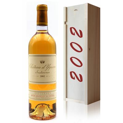 Coffret Château D' Yquem 2002 Blanc 75cl AOC Sauternes