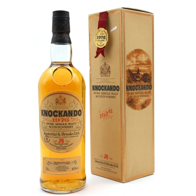 Whisky Knockando 1976 - 43% - 75cl