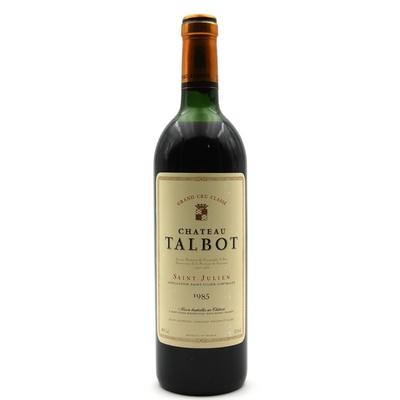 Château Talbot 1985 Rouge 75cl AOC Saint - Julien