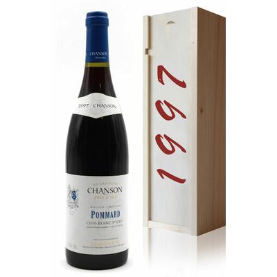 Coffret Chanson 1997 Pommard 1er Cru Rouge 75cl AOC Bourgogne