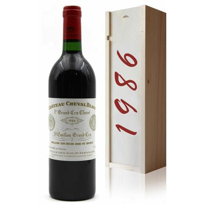 Coffret Château Cheval Blanc 1986 Rouge 75cl AOC Saint-Émilion
